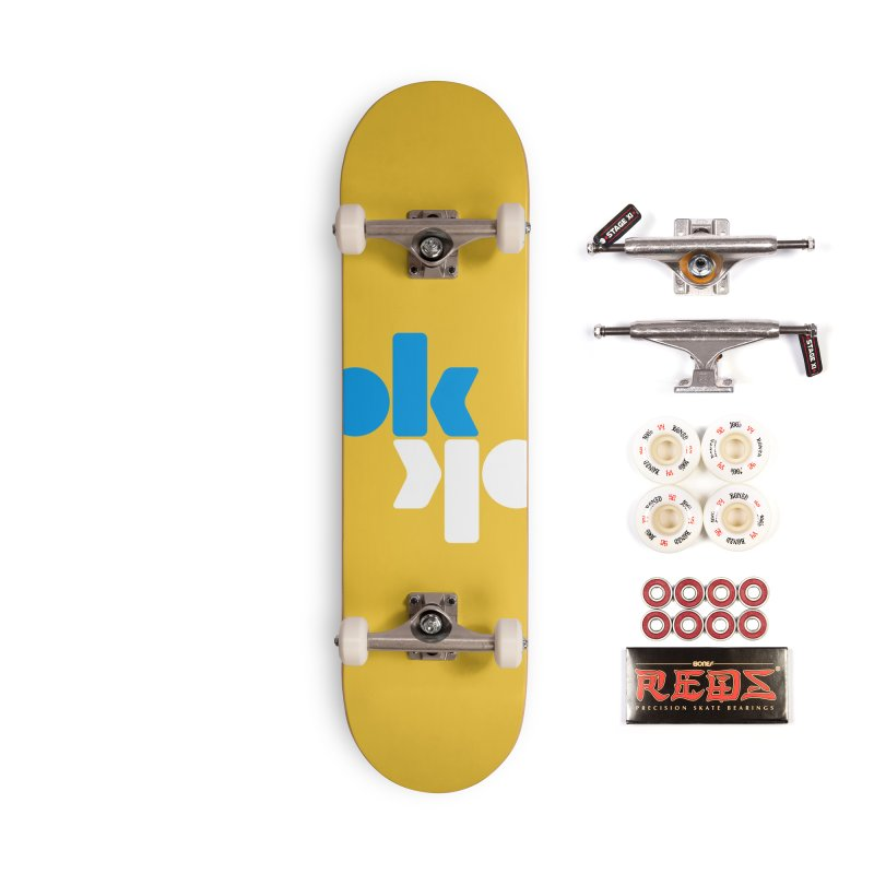 Ok Ok Accessories Complete - Pro Skateboard by SHIRT MUST GO ON
