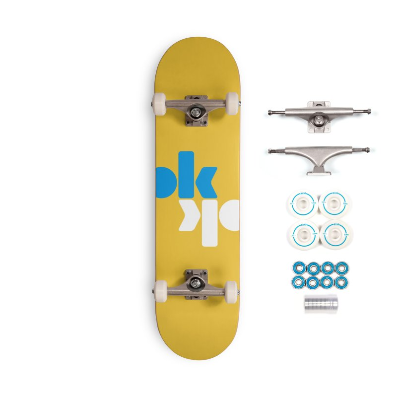 Ok Ok Accessories Complete - Basic Skateboard by SHIRT MUST GO ON