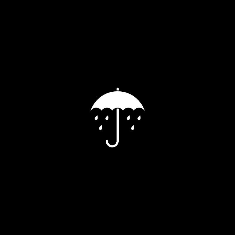 Sad Umbrella Men's T-Shirt by SHIRT MUST GO ON