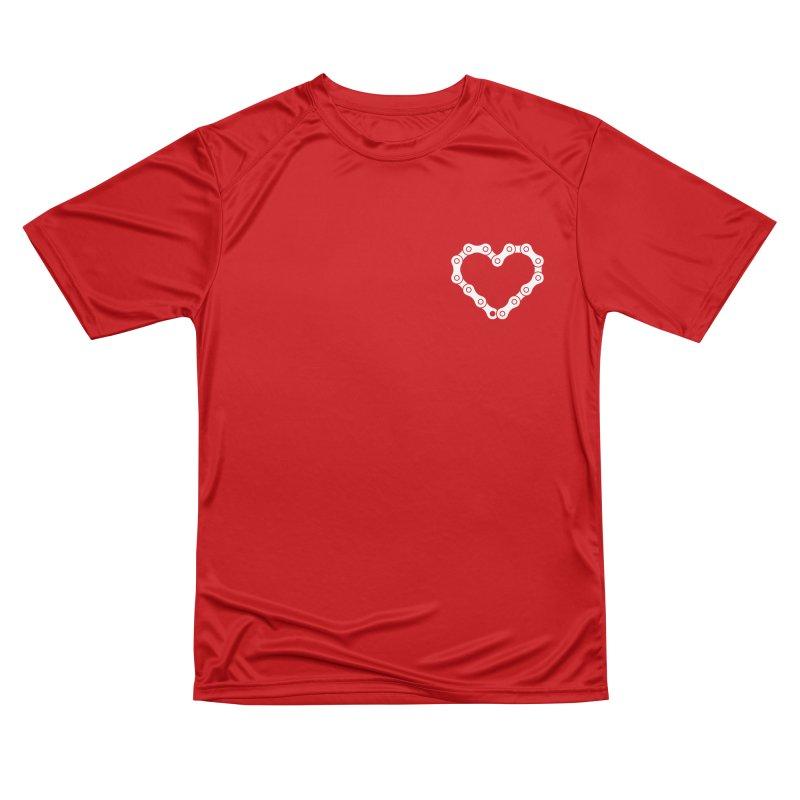 Velo Love Women's Performance Unisex T-Shirt by SHIRT MUST GO ON