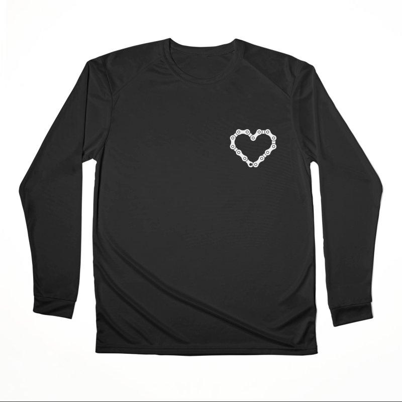 Velo Love Women's Performance Unisex Longsleeve T-Shirt by SHIRT MUST GO ON
