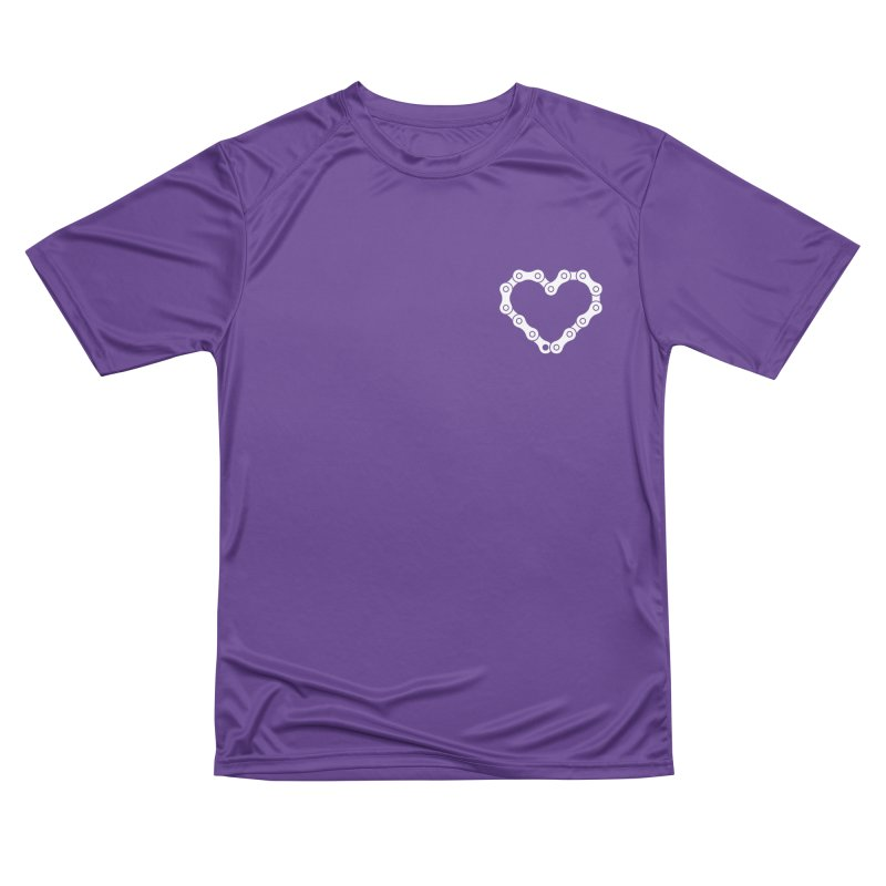 Velo Love Men's Performance T-Shirt by SHIRT MUST GO ON
