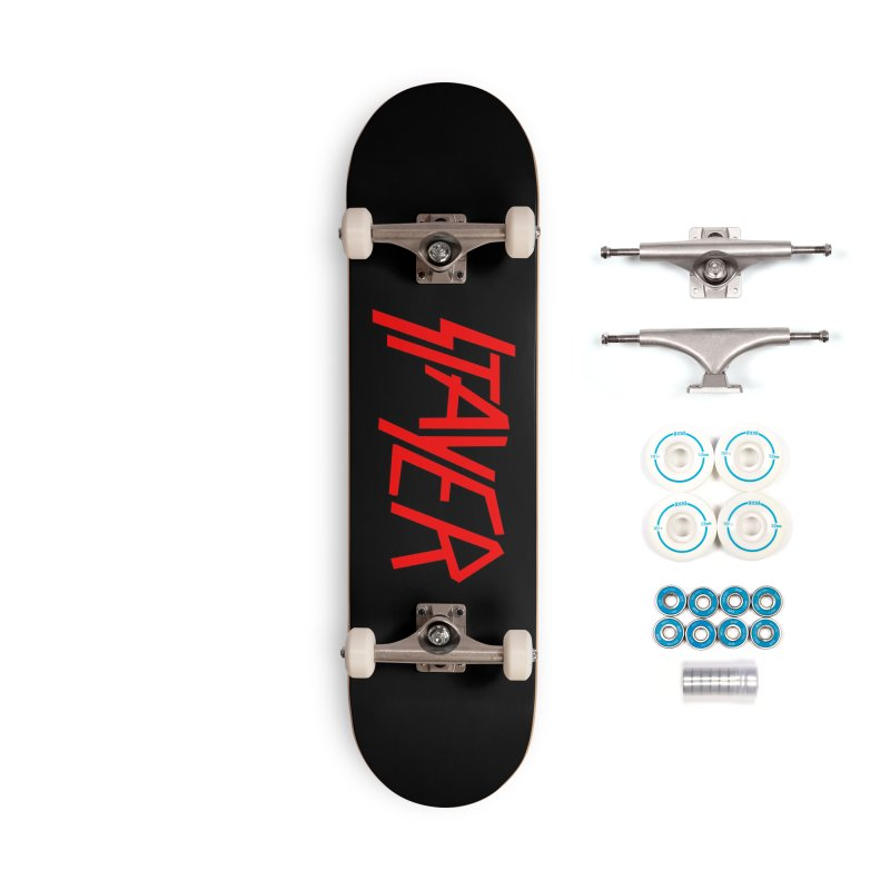 Stayer Accessories Complete - Basic Skateboard by SHIRT MUST GO ON