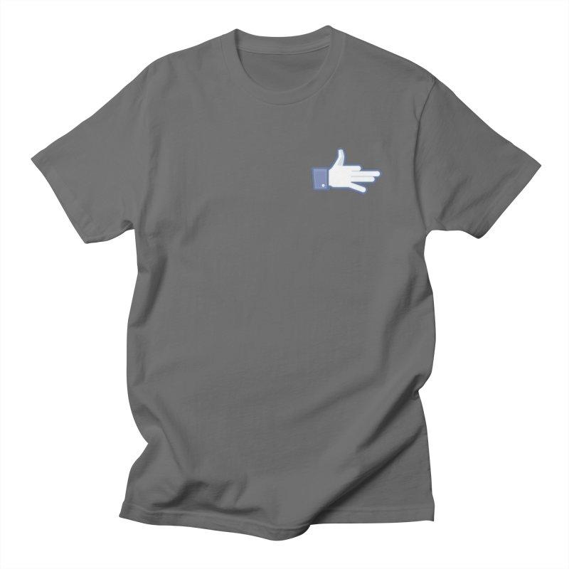 Like a Dog Men's Regular T-Shirt by SHIRT MUST GO ON