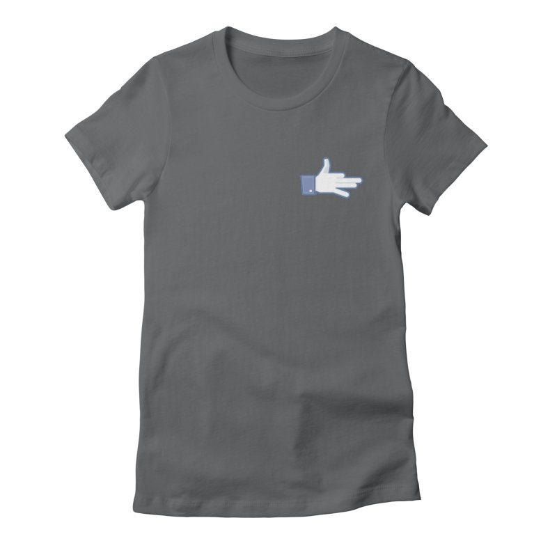 Like a Dog Women's Fitted T-Shirt by SHIRT MUST GO ON