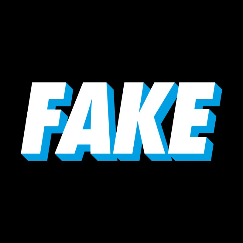 Fake Women's T-Shirt by SHIRT MUST GO ON