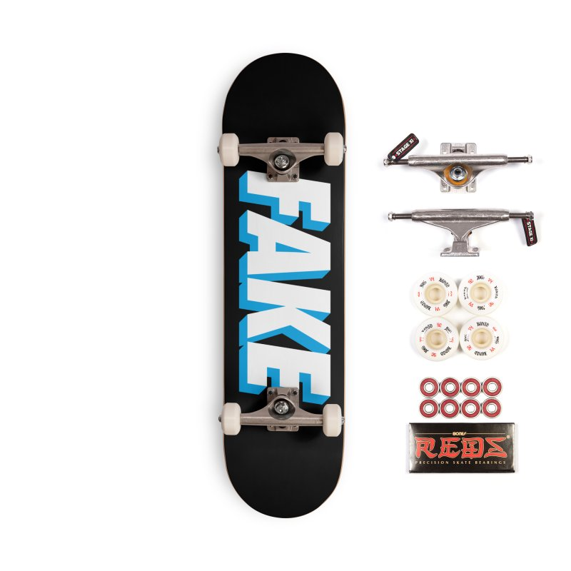 Fake Accessories Complete - Pro Skateboard by SHIRT MUST GO ON