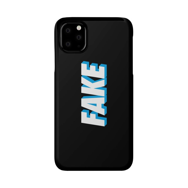 Fake Accessories Phone Case by SHIRT MUST GO ON