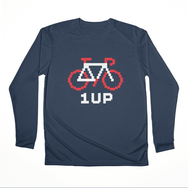 1UP Men's Performance Longsleeve T-Shirt by SHIRT MUST GO ON