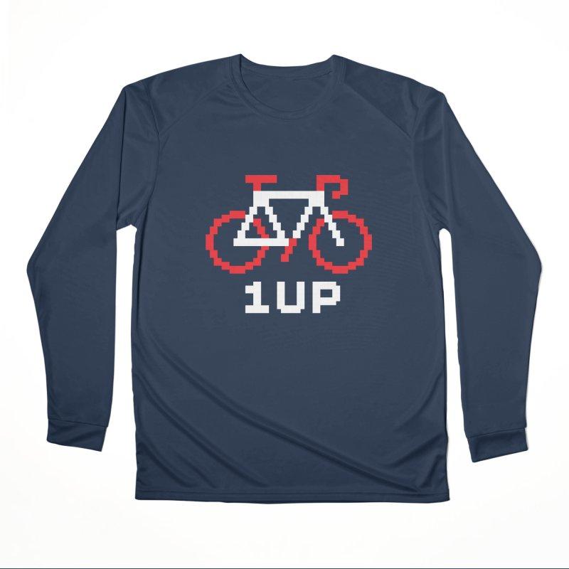 1UP Women's Performance Unisex Longsleeve T-Shirt by SHIRT MUST GO ON