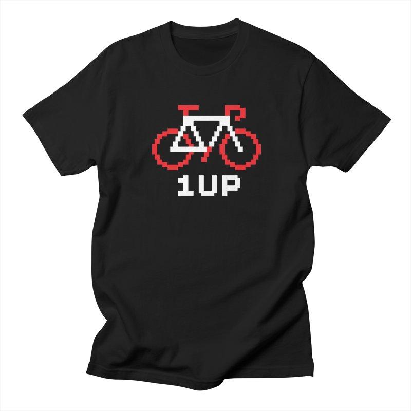 1UP Men's Regular T-Shirt by SHIRT MUST GO ON
