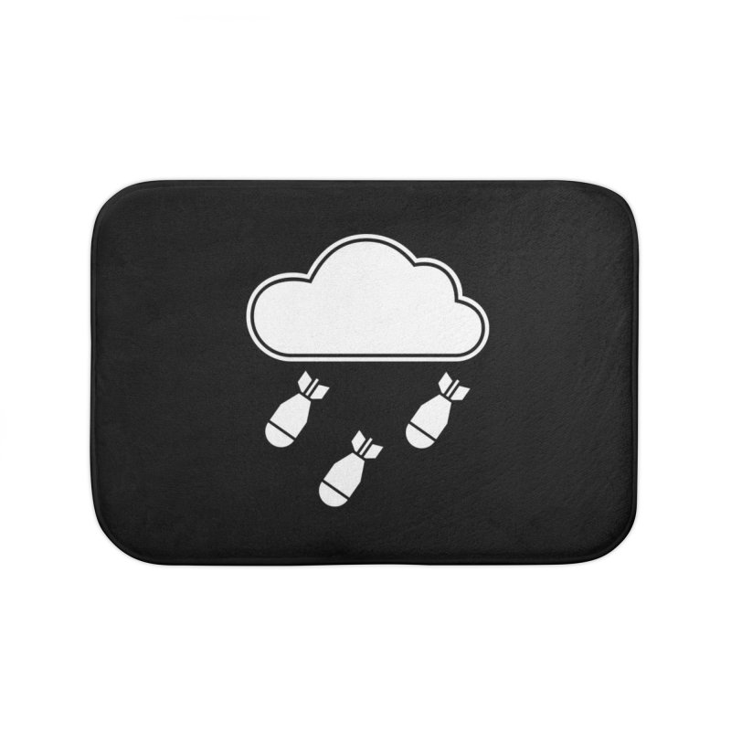 Bomb Cloud Home Bath Mat by SHIRT MUST GO ON