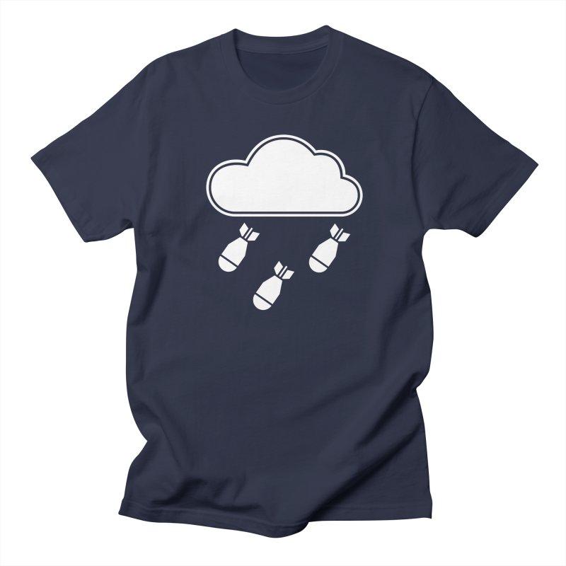 Bomb Cloud Men's Regular T-Shirt by SHIRT MUST GO ON