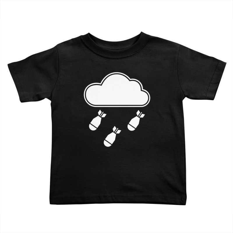 Bomb Cloud Kids Toddler T-Shirt by SHIRT MUST GO ON