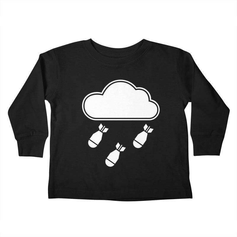Bomb Cloud Kids Toddler Longsleeve T-Shirt by SHIRT MUST GO ON