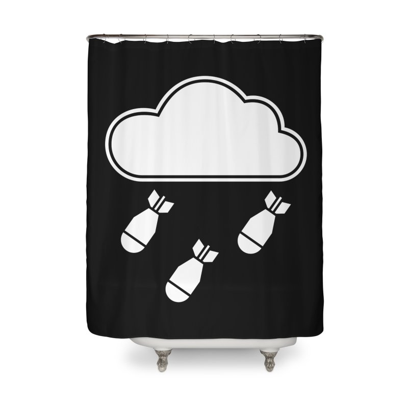 Bomb Cloud in Shower Curtain by SHIRT MUST GO ON