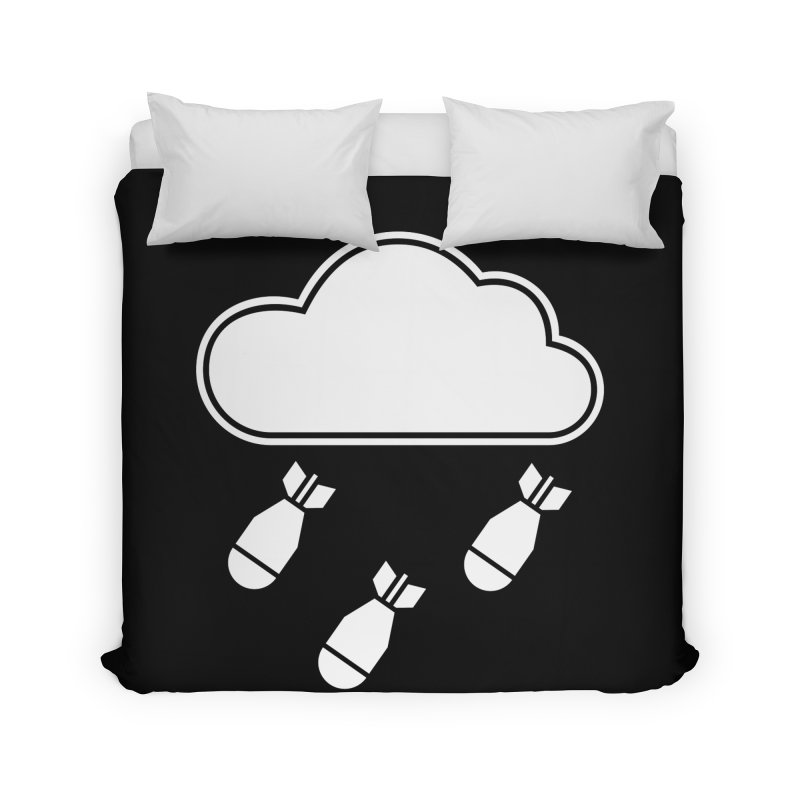 Bomb Cloud Home Duvet by SHIRT MUST GO ON