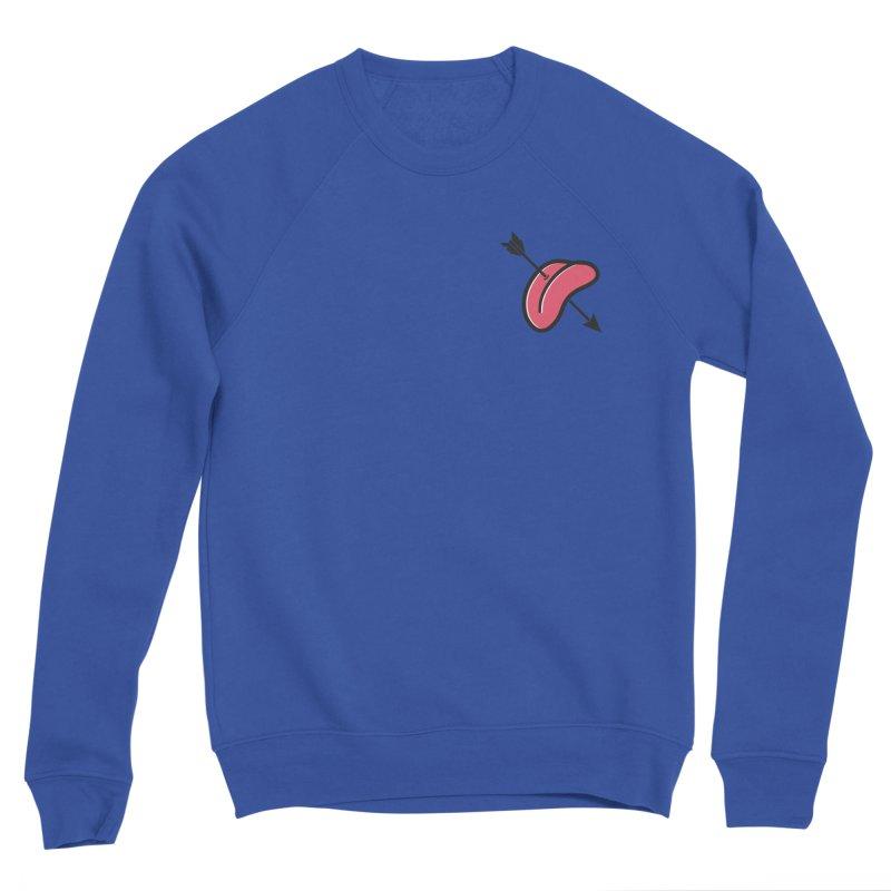 Tongue of Love Men's Sponge Fleece Sweatshirt by SHIRT MUST GO ON