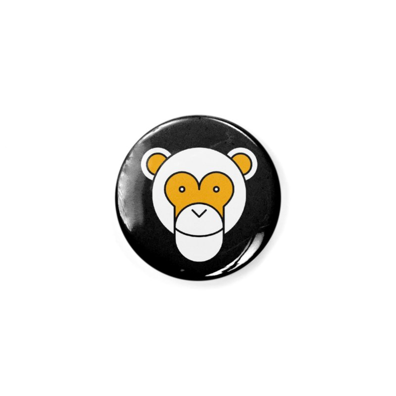 Monkeys Gonna Ape Accessories Button by SHIRT MUST GO ON