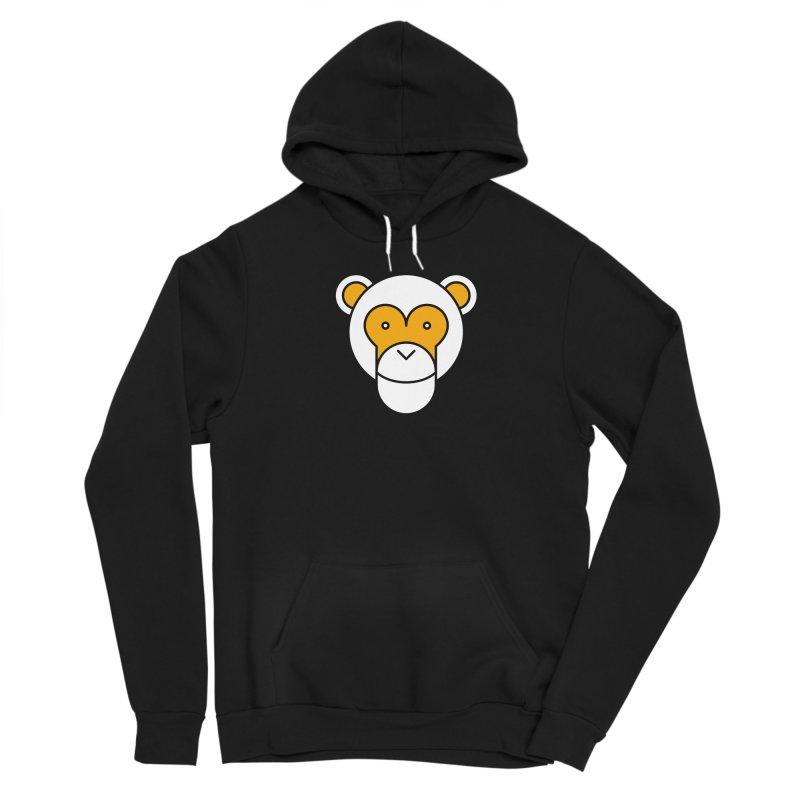 Monkeys Gonna Ape Men's Sponge Fleece Pullover Hoody by SHIRT MUST GO ON