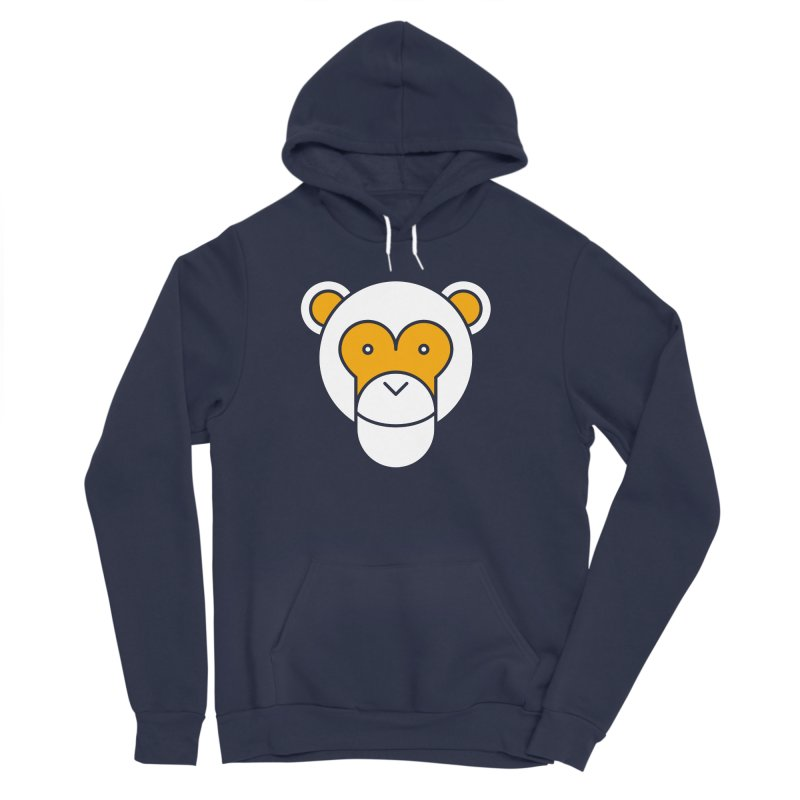 Monkeys Gonna Ape Men's Sponge Fleece Pullover Hoody by SHIRT MUST GO ON