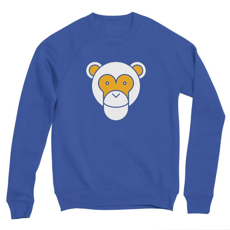 Monkeys Gonna Ape Men's Sponge Fleece Sweatshirt by SHIRT MUST GO ON