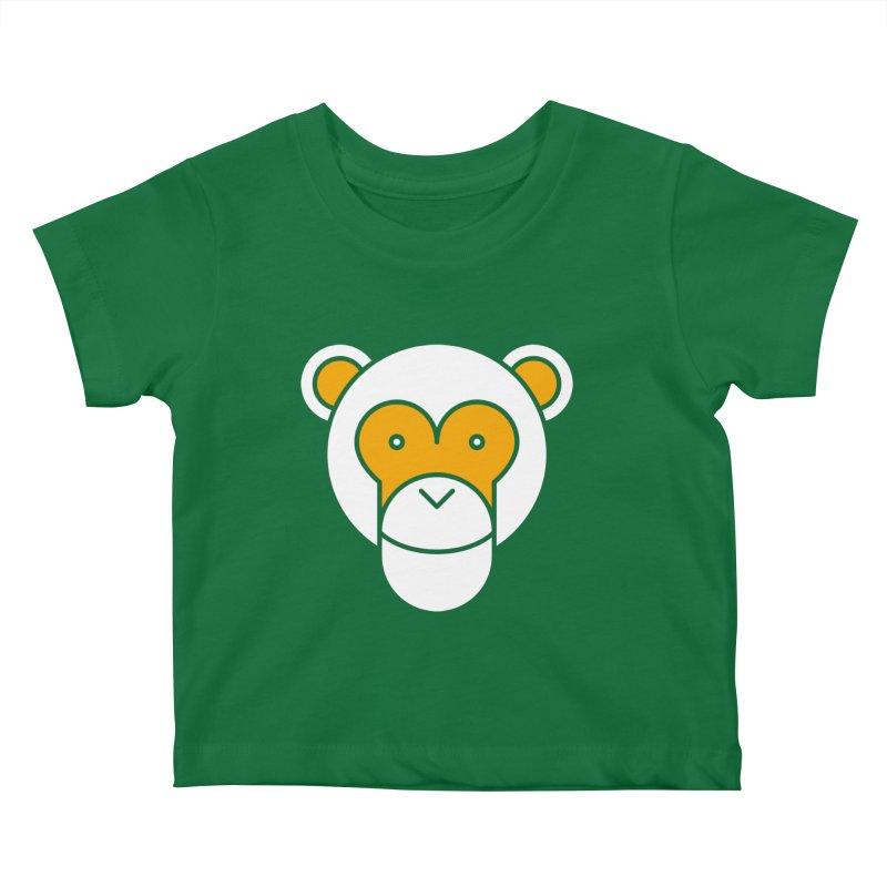 Monkeys Gonna Ape Kids Baby T-Shirt by SHIRT MUST GO ON