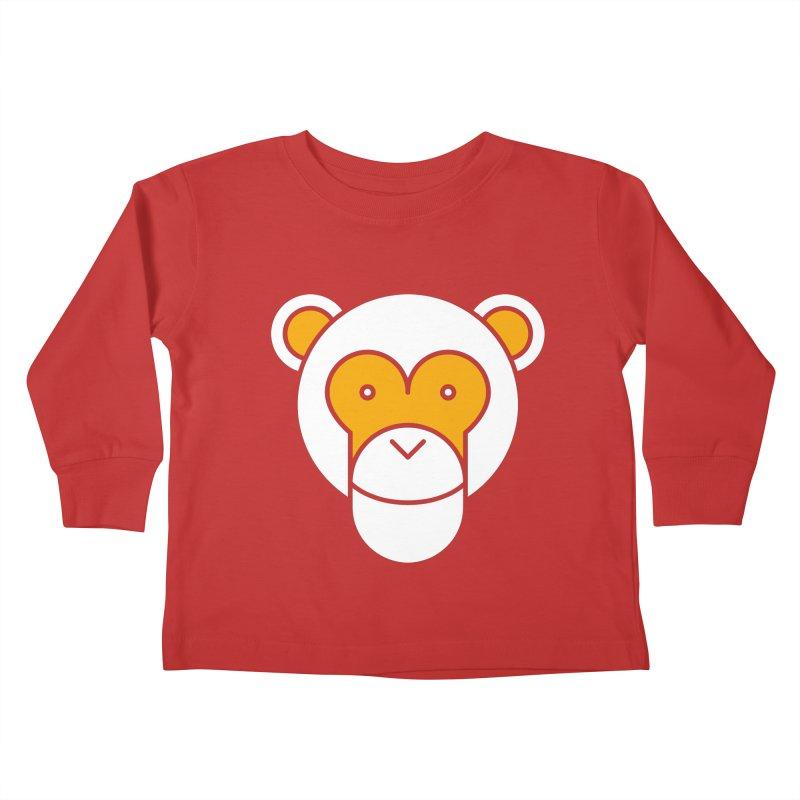 Monkeys Gonna Ape Kids Toddler Longsleeve T-Shirt by SHIRT MUST GO ON