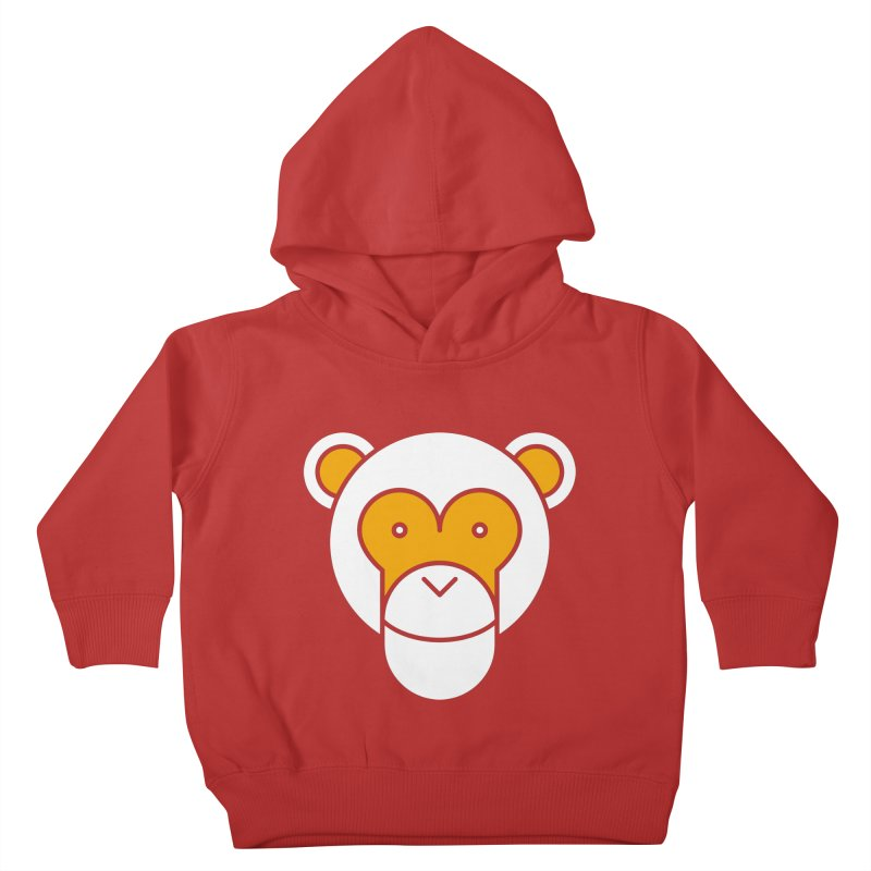 Monkeys Gonna Ape Kids Toddler Pullover Hoody by SHIRT MUST GO ON