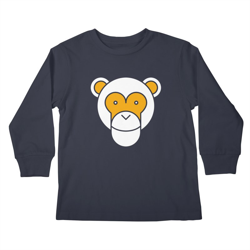 Monkeys Gonna Ape Kids Longsleeve T-Shirt by SHIRT MUST GO ON