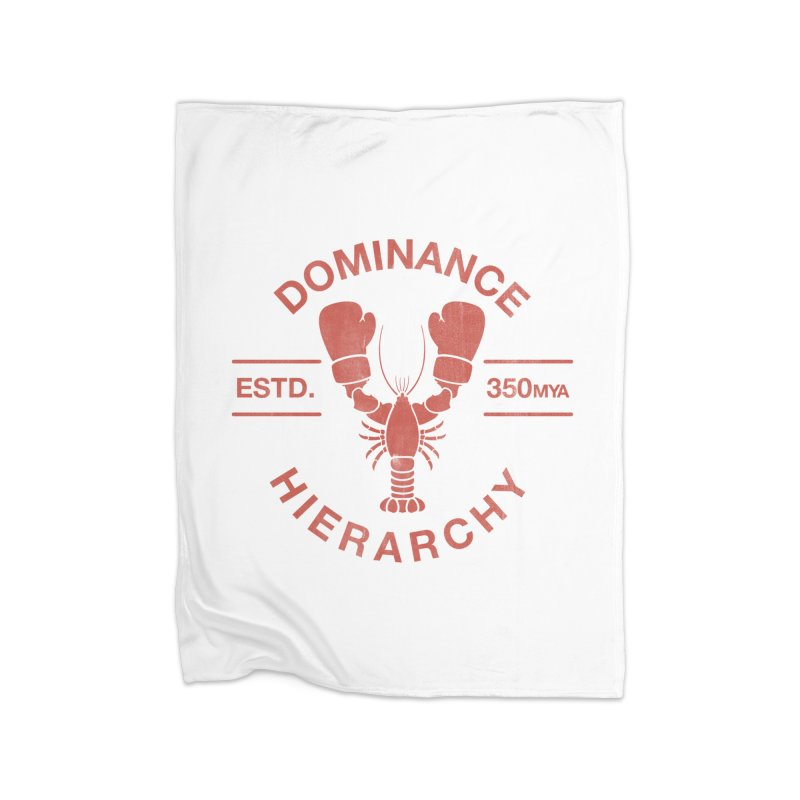 Top Lobster Home Blanket by Shirts of Meaning