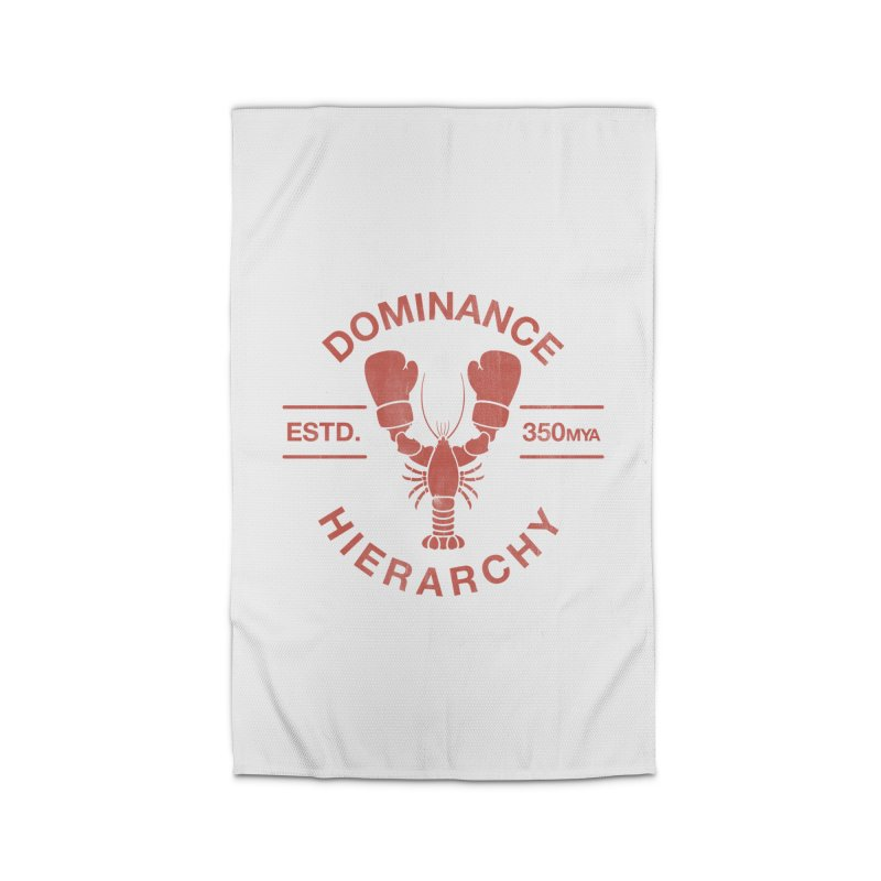 Top Lobster Home Rug by Shirts of Meaning