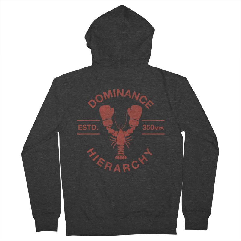 Top Lobster Women's Zip-Up Hoody by Shirts of Meaning