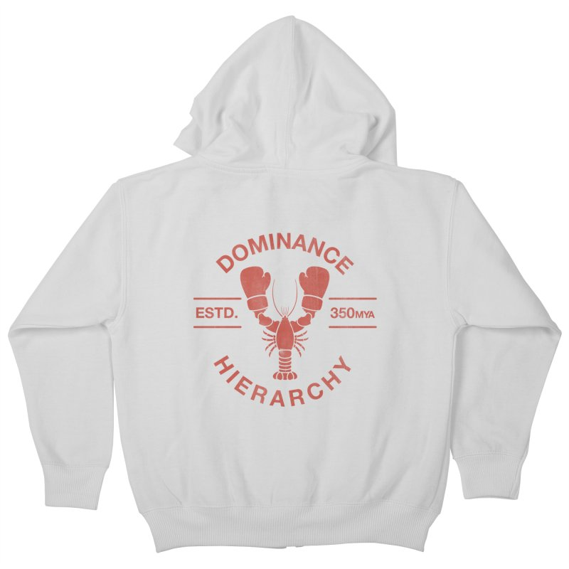 Top Lobster Kids Zip-Up Hoody by Shirts of Meaning