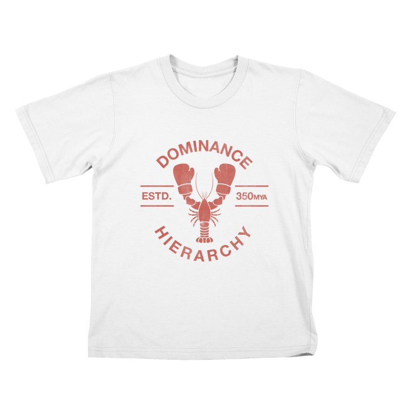 Top Lobster Kids T-shirt by Shirts of Meaning