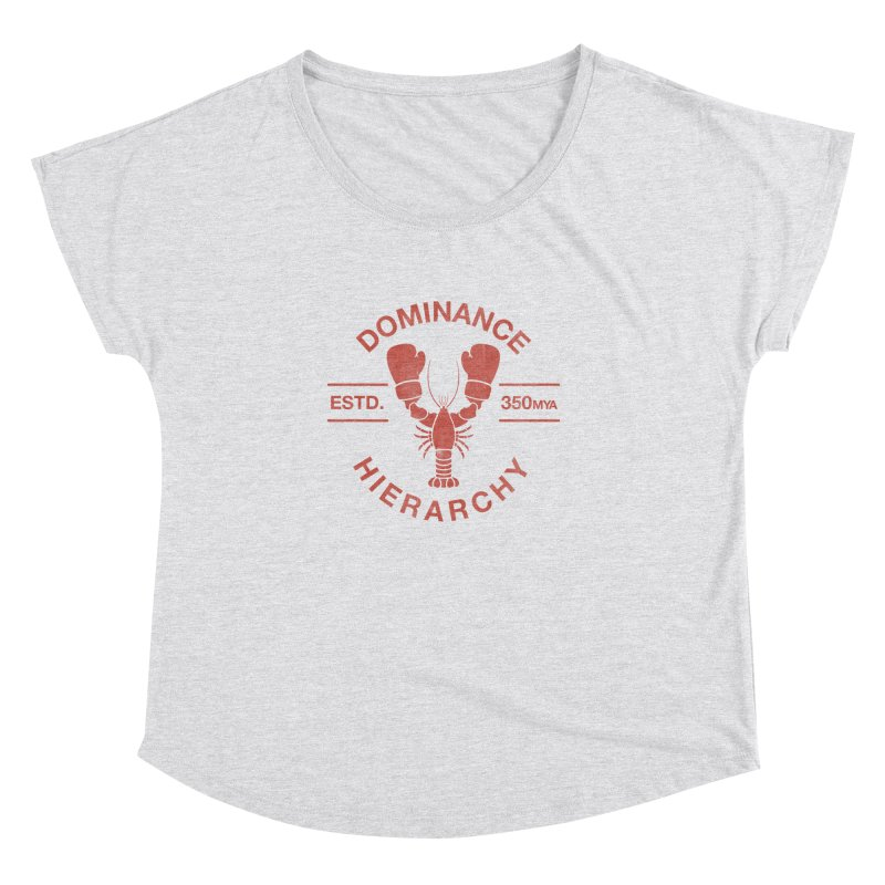 Top Lobster Women's Dolman by Shirts of Meaning