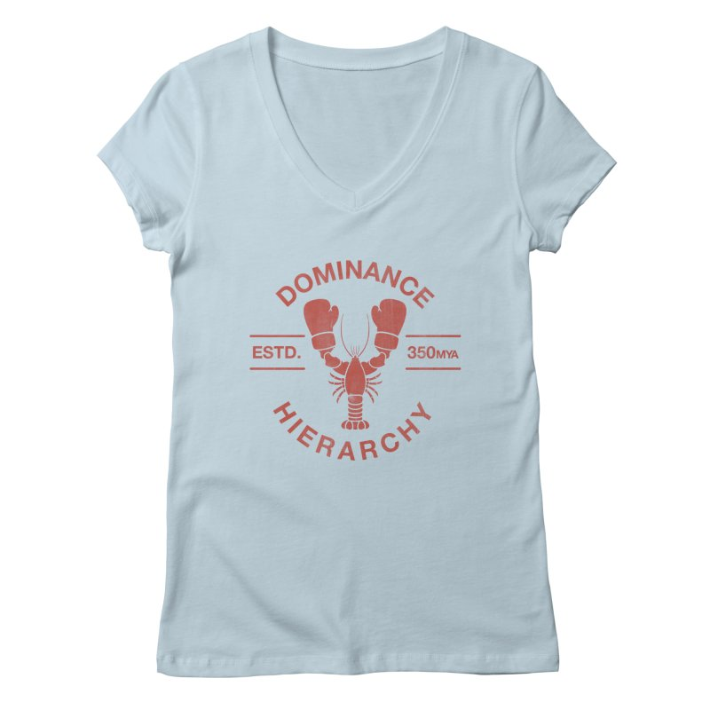Top Lobster Women's V-Neck by Shirts of Meaning