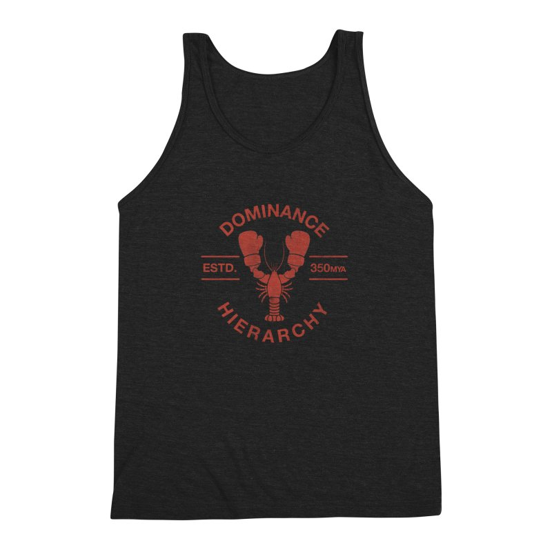 Top Lobster Men's Triblend Tank by Shirts of Meaning