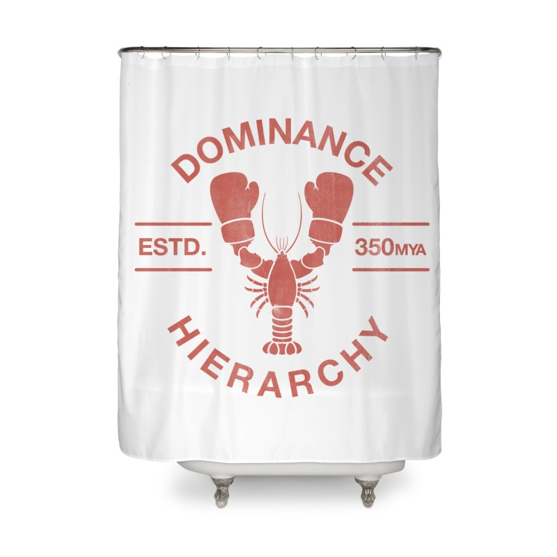 Top Lobster Home Shower Curtain by Shirts of Meaning