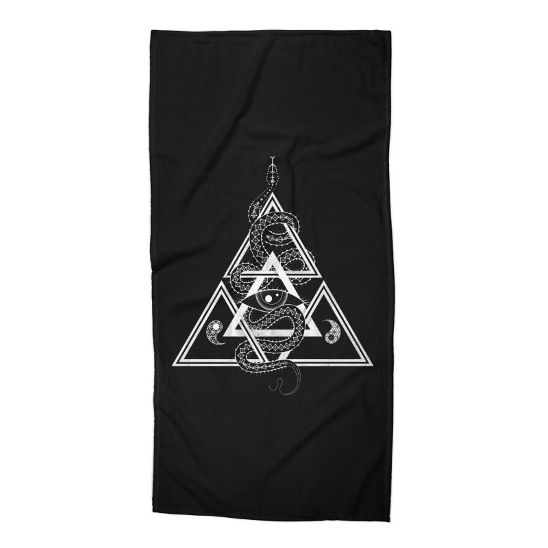 S(n)acred Geometry Accessories Beach Towel by Shirts of Meaning