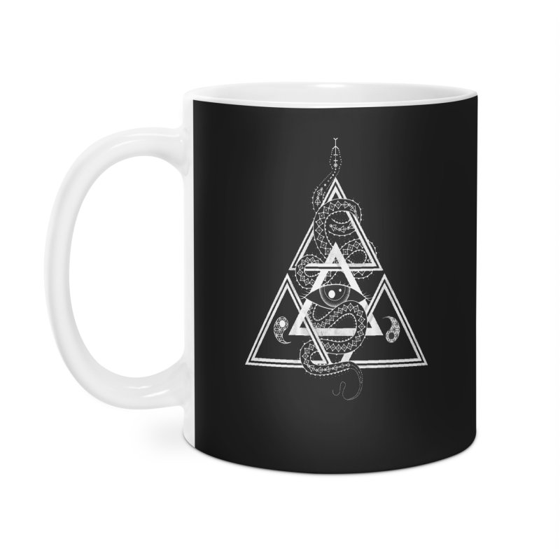 S(n)acred Geometry Accessories Mug by Shirts of Meaning