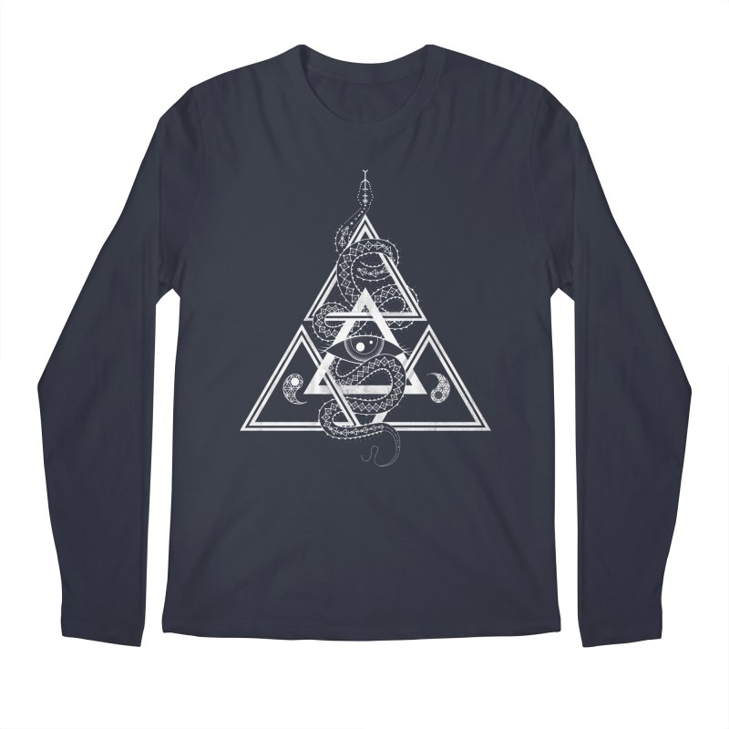 S(n)acred Geometry Men's Longsleeve T-Shirt by Shirts of Meaning