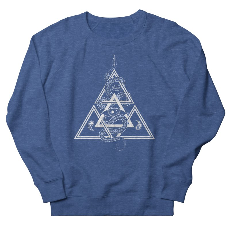 S(n)acred Geometry Men's Sweatshirt by Shirts of Meaning