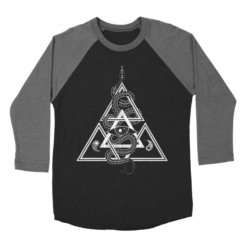S(n)acred Geometry Women's Baseball Triblend T-Shirt by Shirts of Meaning