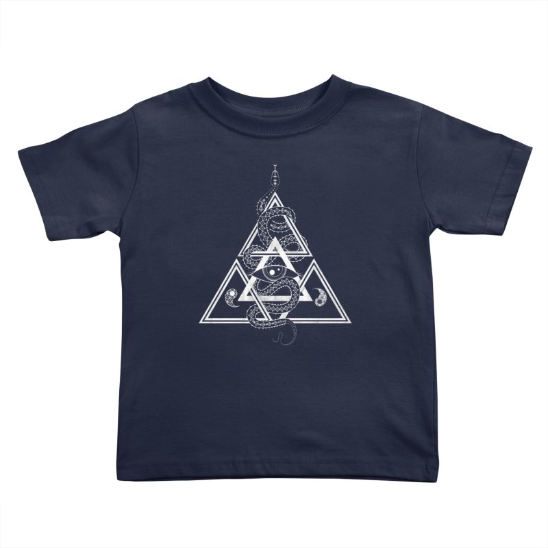 S(n)acred Geometry Kids Toddler T-Shirt by Shirts of Meaning