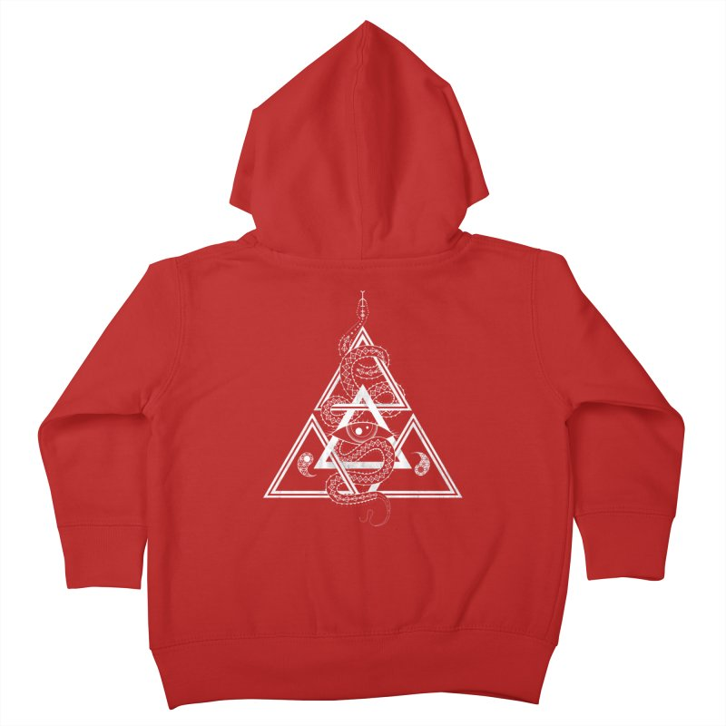 S(n)acred Geometry Kids Toddler Zip-Up Hoody by Shirts of Meaning