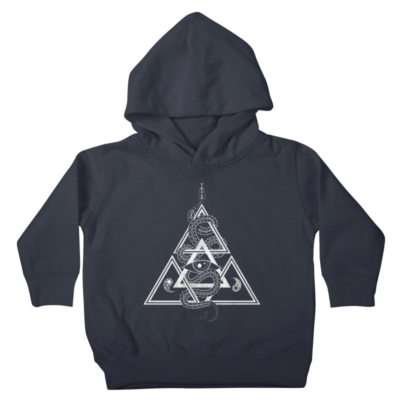 S(n)acred Geometry Kids Toddler Pullover Hoody by Shirts of Meaning