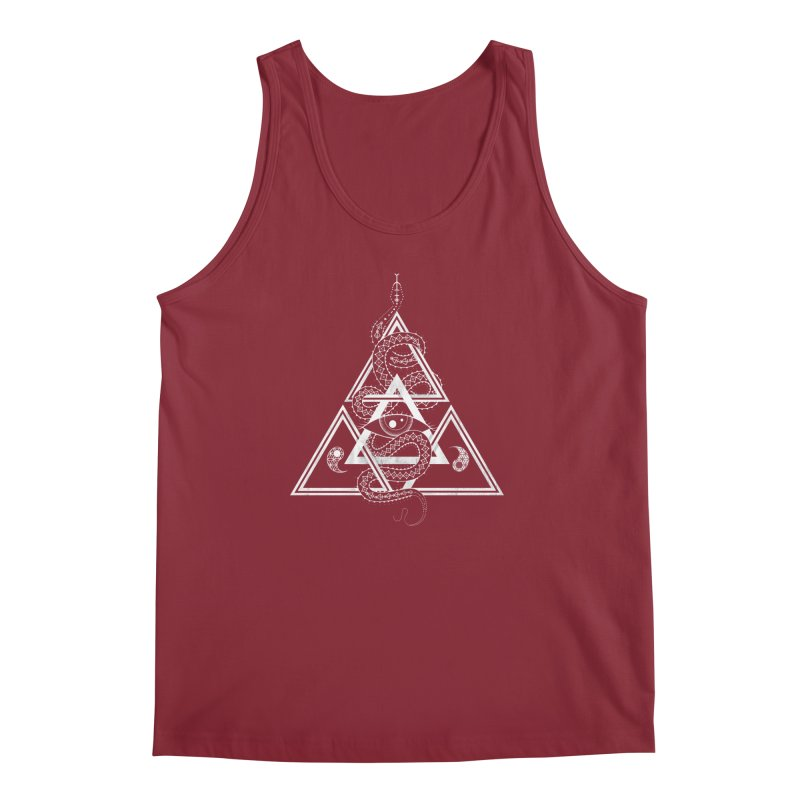 S(n)acred Geometry Men's Tank by Shirts of Meaning