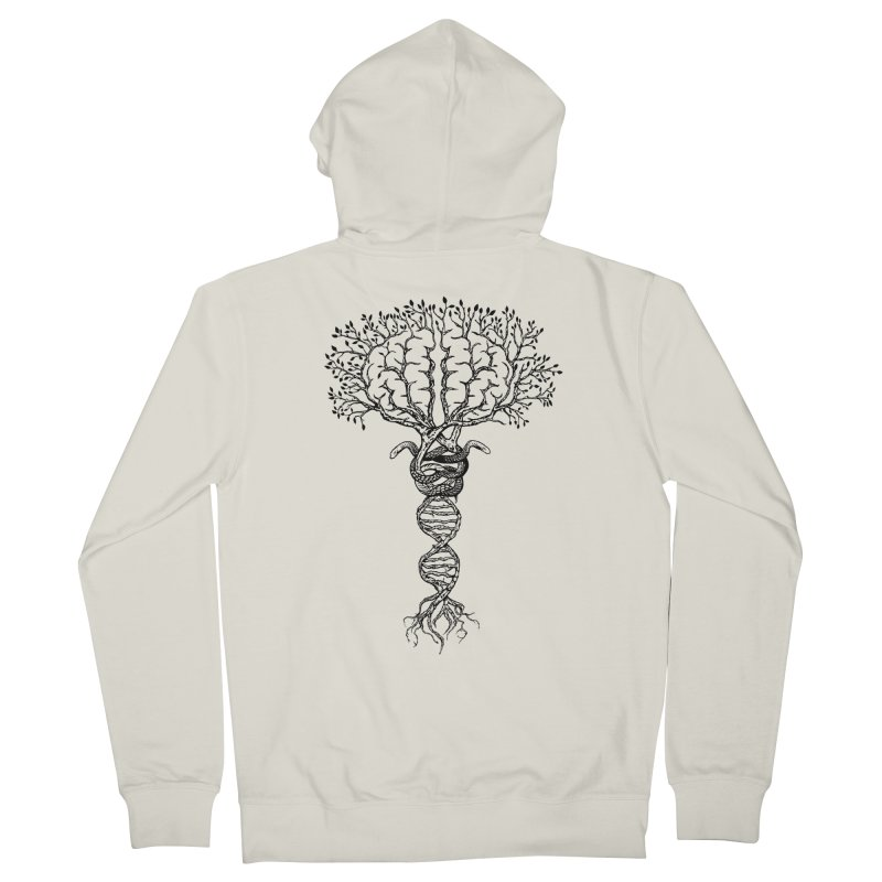Suspicions of Consciousness Women's Zip-Up Hoody by Shirts of Meaning