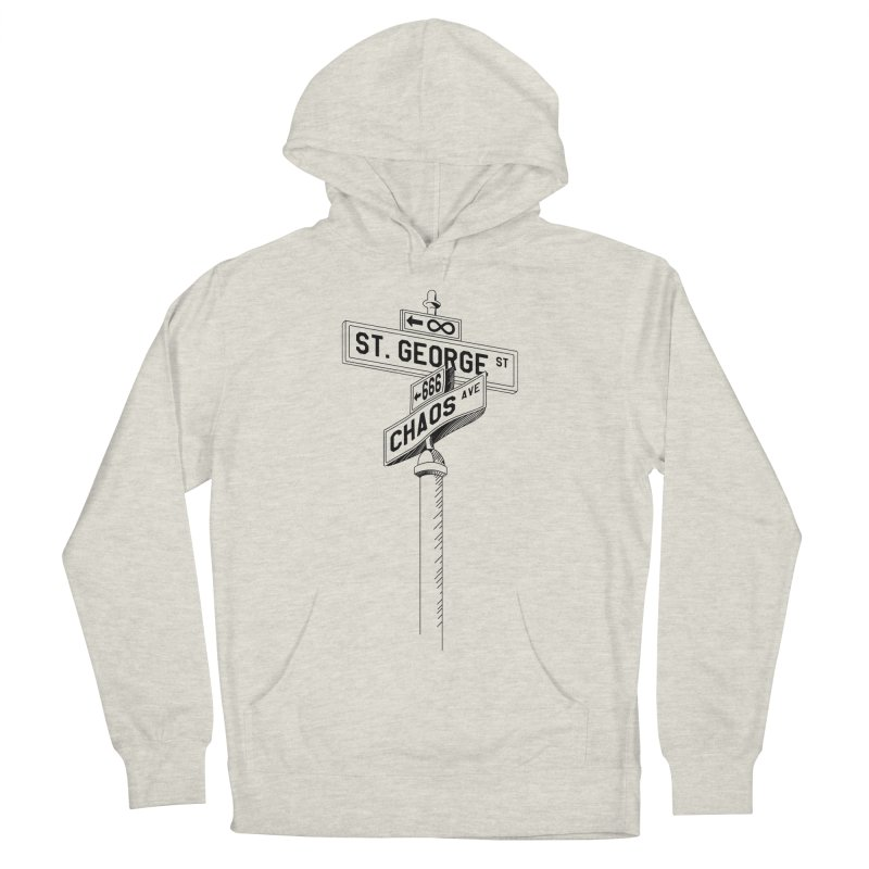 Dragon Slayer Men's Pullover Hoody by Shirts of Meaning